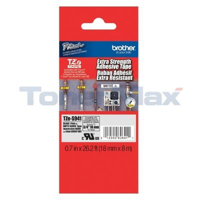 BROTHER TZ EXTRA STRENGTH ADHESIVE TAPE 18 MM X 8 M